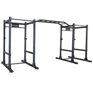 Body Solid Commercial Double Power Squat Rack Package SPR1000DB