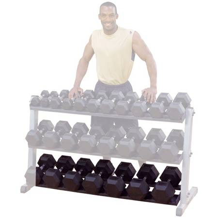 Body Solid Third Tier Attachment for Dumbbell Rack GDR60 GDRT6