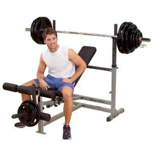 Body Solid Commercial Olympic Flat Incline Decline Bench GDIB46L