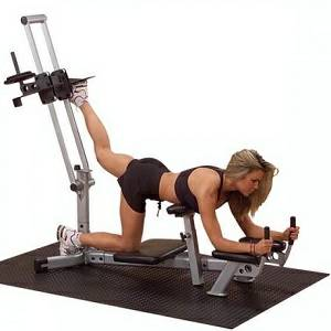 Body Solid PowerLine Glute Max Leg HamString Butt Blaster PGM200