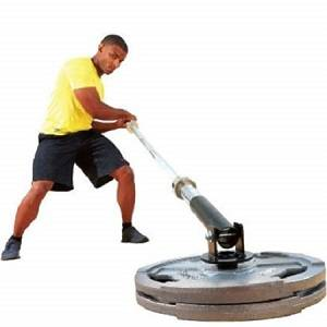 Body Solid TBar Landmine Land Mine Olympic Plate Pivot Post LMPP