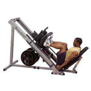 Body Solid Hip & Leg Press Hack Squat Legs Sled GLPH1100