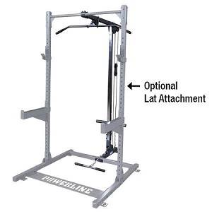 Body Solid PowerLine Half Rack Lat Pulldown Attachment PLA500