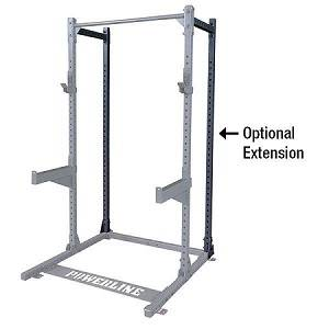 Body Solid PowerLine Half Rack Squat Rear Extension PPR500EXT