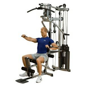 Body Solid PowerLine Compact Multi Station Weight Home Gym P2X