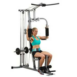 Body Solid PowerLine Multi Station Plate Loaded Home Gym PHG1000