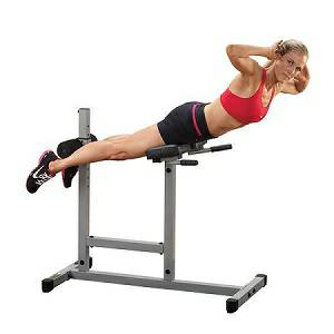 Body Solid PowerLine Roman Chair Glute Back Hyperextension PCH24