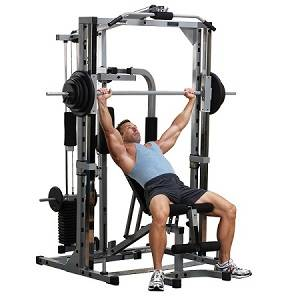 Body Solid Powerline Smith Machine Package Gym System PSM1442XS