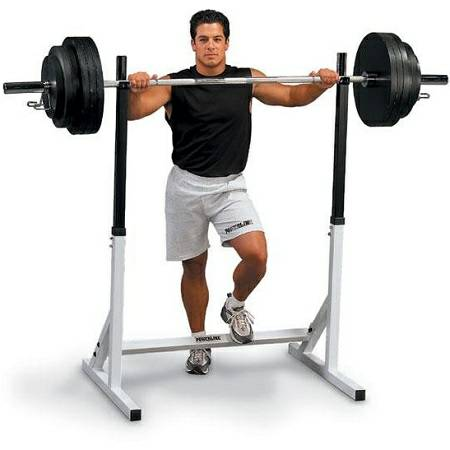 Body Solid POWERLINE SQUAT RACK Adjustable Weight Stand PSS60X NEW IN BOX