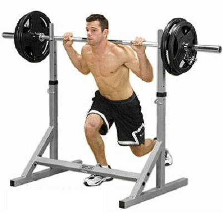 body solid powerline free weight squat squats rack stands