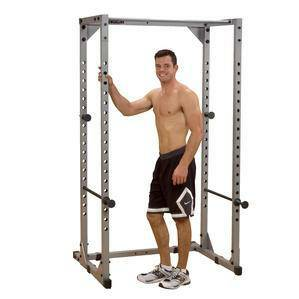 Body Solid Powerline Power Squat Rack Full Safety Cage PPR200X