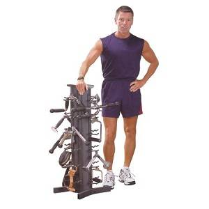 Body Solid Vertical Dumbell Dumbbell Storage Rack VDRA30