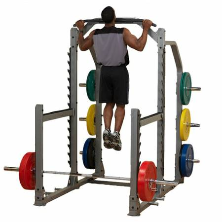 body solid pro club line gym multi power squat rack cage. Black Bedroom Furniture Sets. Home Design Ideas
