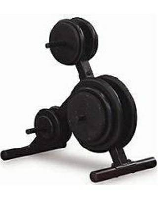 Body Solid Storage Rack FreeWeight Gym Standard Plate Tree SWT14