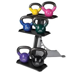 Body Solid KettleBell Kettle Bell FreeWeight Storage Rack GDKR50