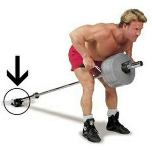 Body Solid T-Bar TBar Bent Row LandMine Land Mine Platform TBR10