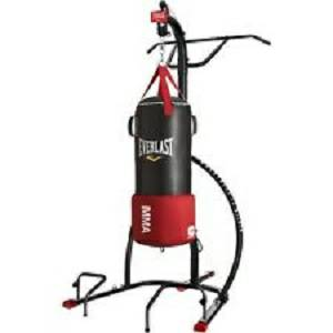 Everlast Omnistrike Kicking Punching Heavy Bag Stand MMA4812B