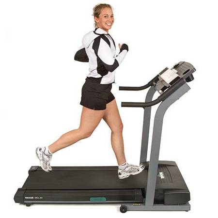 IMAGE 10.0 10 Folding Foldable Space Saver Exercise Treadmill