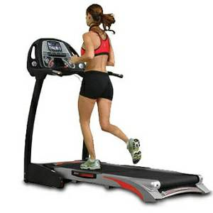 IRONMAN Legacy Fold Folding Space Saver Treadmill TV Television
