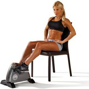 Marcy Mini Cycle Exercise Bike Upper Lower Body Ergometer NS909