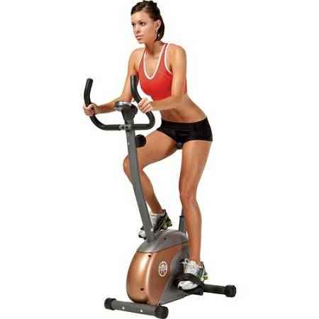 Marcy Upright Magnetic Exercise Stationary Fitness Bike ME