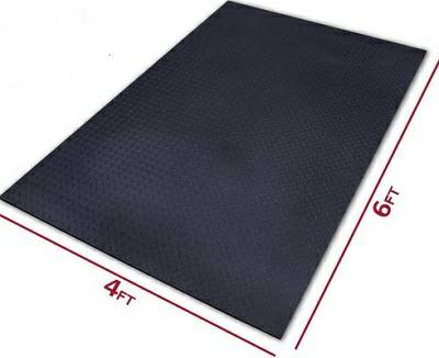 Floor Flooring Covering Protective Gym Mat Mats 4 x 6 ft x .5 in