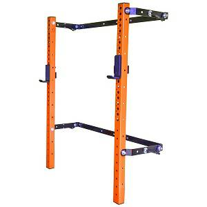 PRx Performance Pro Folding Squat Multi Press Power Rack Cage OR
