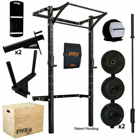Prx Squat Rack Wall Mounted Medicine Fit Ball Vertical