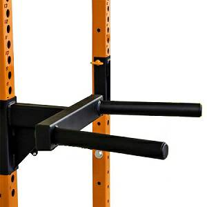 PRx Pro Squat Rack Dip Dips Dipping Station Attachment Option 3""
