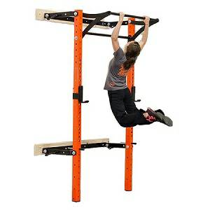 PRx Performance Pro Folding Kipping Bar Squat Multi Power Rack