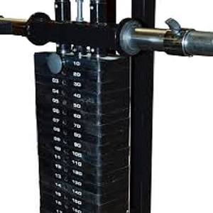 Powertec Lat Tower Optional Selectorized 194# Weight Stack WS190