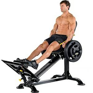 PowerTec Compact Leg Sled Seated Squat Calf Legs Press P-CLS