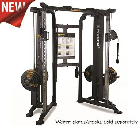 Powertec Functional Trainer Dual Column Cable Crossover Wb