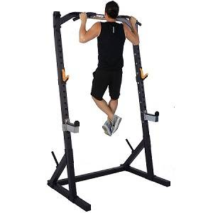 PowerTec WorkBench MultiPress Gym Squat Half Rack WB-HR19-B