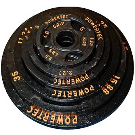 PowerTec Fitness 255# Olympic Grip Plate Set Free Weight Plates BUY FITNESS ONLINE  sc 1 st  buy fitness online & PowerTec Fitness 255# Olympic Grip Plate Set Free Weight Plates BUY ...