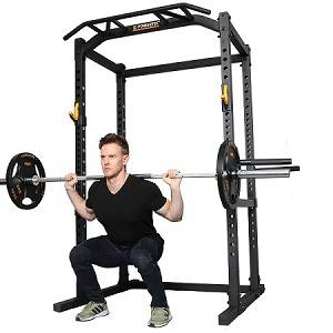 PowerTec Power Tec Squat Rack Full Safety Cage WB-PR-B