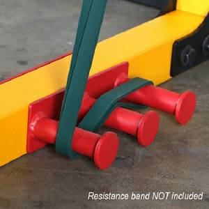 PowerTec Fitness Tec Power Rack Resistance Band Pegs WB-PR16-RBP