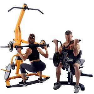 PowerTec WorkBench LeverGym Leverage System Weight Home Gym LS