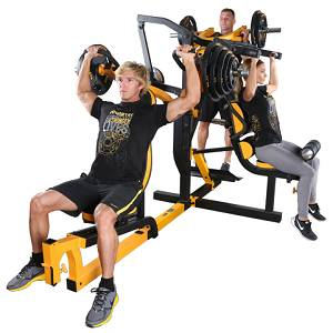 PowerTec Fitness WorkBench Multi System Leverage Home Gym WBMS16