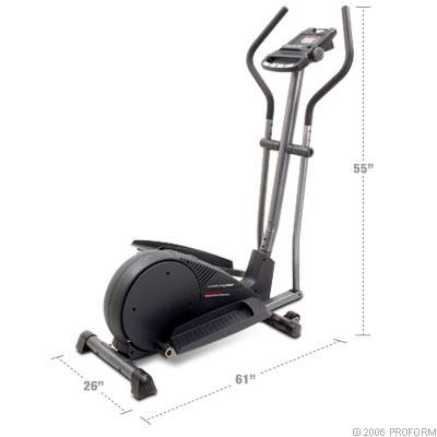 ProForm Pro Form Dual Action Elliptical CrossTrainer C630 Refurb