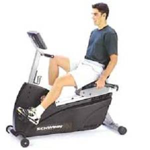 Schwinn 920i HRC Commercial Recumbent Fitness Exercise Bike