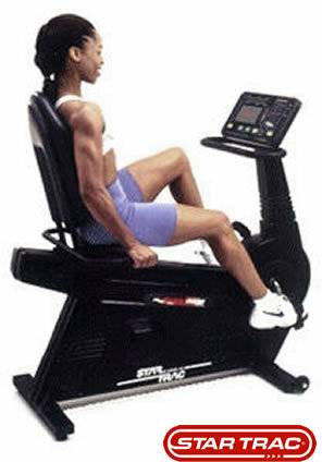 Star Trac RB 4400 RB4400 Commercial Grade Recumbent Bike Refurb