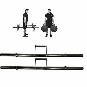 Steelflex APE Olympic Free Weight Farmers Walk Handles Bars FH-1