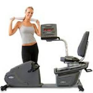 Steelflex Aristo CR1 CR-1 Commercial Gym Recumbent Exercise Bike