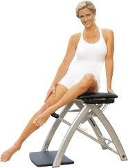 Susan Lucci Malibu Pilates Chair Core Sculpting As Seen on TV!