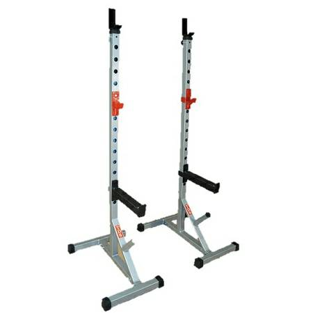 Olympic Free Weight Power Squat Multi Rack Portable H Base