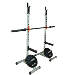 Olympic Free Weight Power Squat Multi Rack Portable H Base Stand