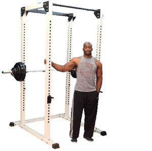 NYB Commercial Pro Power Squat Rack Full Safety Cage Monster Gym