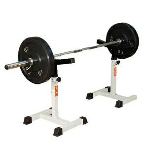TDS Adjustable MultiPress Gym Leg Squat Rack Safety Stands 93020