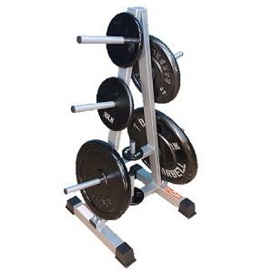 NYB Standard 1in Post Weight Plate Tree A Frame Storage Rack